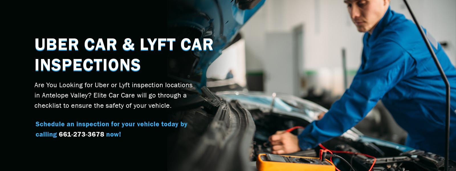 uber car inspection palmdale